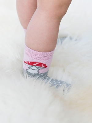 Toadstool Sock