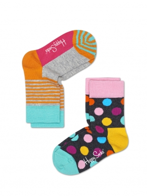 2 Pack Big Dots Sock