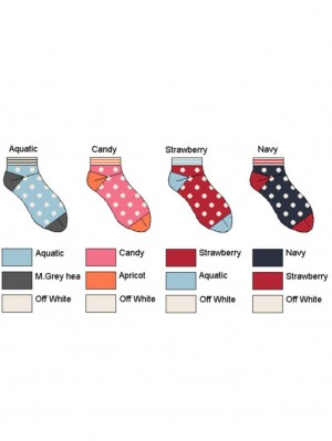 Juicy Dots Short Sock