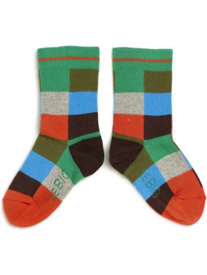 Block Boys Sock 2-pack
