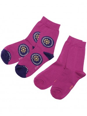 Kids Sock Flowers (2 pairs)