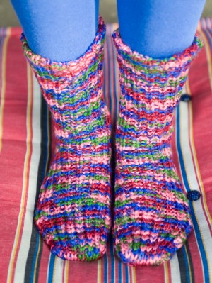 Multi Home Spun Sock