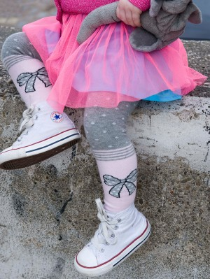 Funny Ribbon Tights