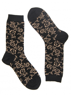 Pretty Flower Sock