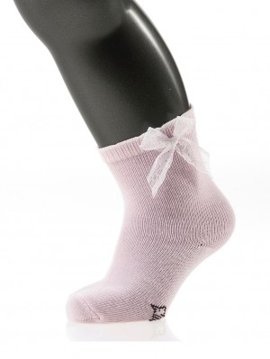 Lace Bow Sock