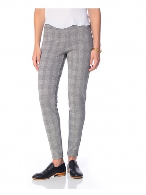 Glen Plaid Loafer Leggings