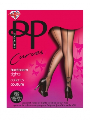 Backseam Tights with Bow