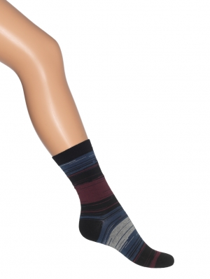 Hazy Stripes Sock Women