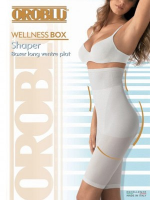 Wellness Box Shaper Boxer long ventre plat
