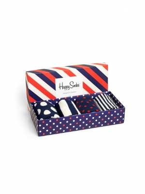 Blue-Red Gift Box