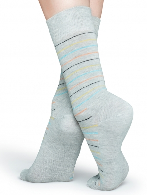 Thin Stripe Sock