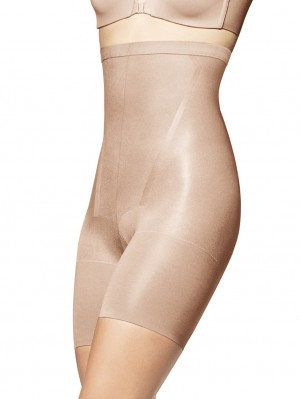 In-Power Line High-Waisted Mid-Thigh Shaper