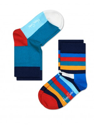 2 Pack Stripe Sock