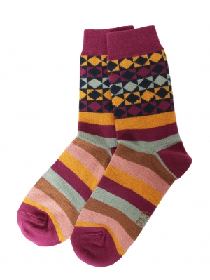 Graphic Color Sock
