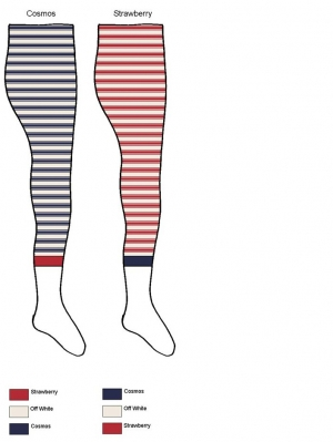Nautical Stripe Legging