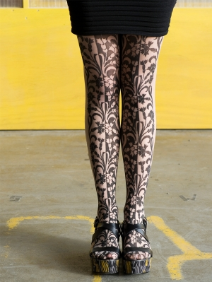 Carnation Tights