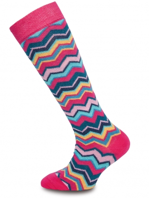 Zig Zag Knee-High