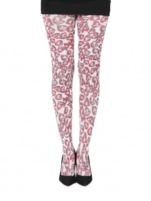 Double Heart Tights