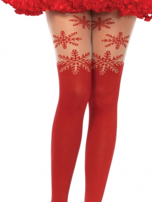 Snowflake Opaque Panty