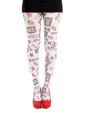 Kiss Me Stupid Tights