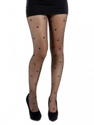 Sheer Heart Tights