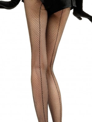 Fishnet Backseam Tights