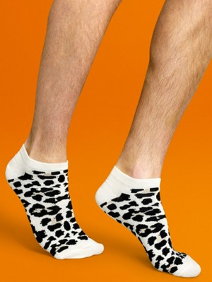 Leopard Low Sock