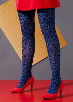 Fancy Leopard Tights