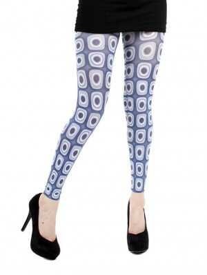Ultimate Footless Printed Tights