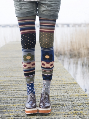 Patchwork Tights