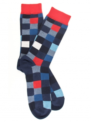 Echiquier Multicolour Sock