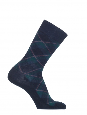 Plaid Checks Sock