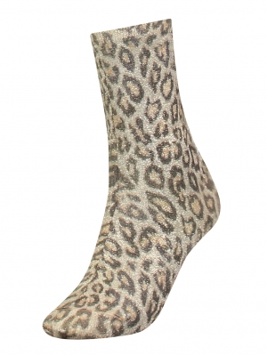 Women Leopard Sock