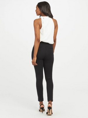 The Perfect Black Pants Ankle Backseam Skinny