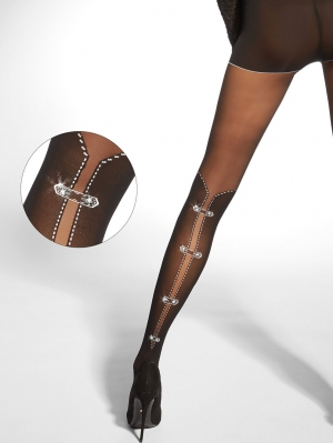 Frederica And Stones Tights