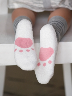 Footprint Kids Sock