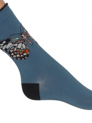 Big Butterfly Sock
