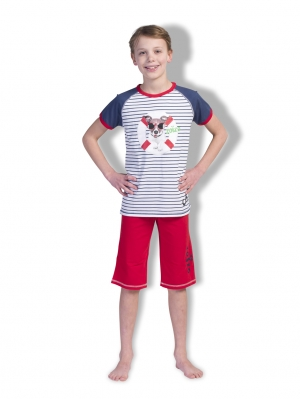 Boys Shortama Stripe Life Buoy