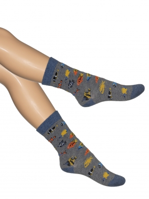 Tropical Fish Kids Sock