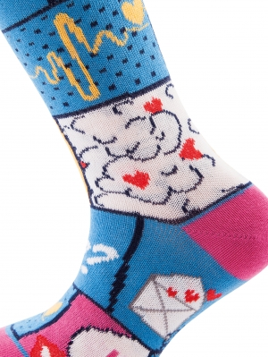 Comic Girl Sock