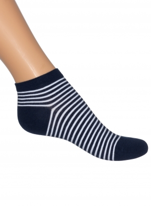 Breton Stripe Short Sock Women