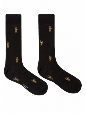 Monkey Motif Socks