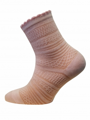 Scalloped Sock