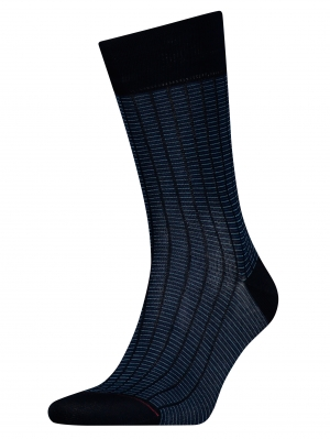 Tailored Micro Repeat Sock