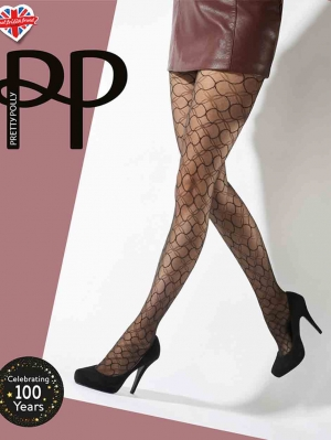 Circle Pattern Tights