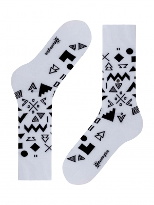 Abstract Geo Sock