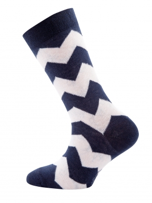 Zigzag Dots Sock 2-Pack