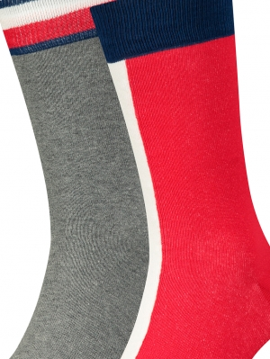 Men Iconic Flag Sock 2-Pack