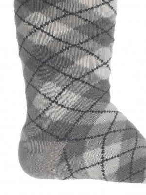 Argyle Knee High