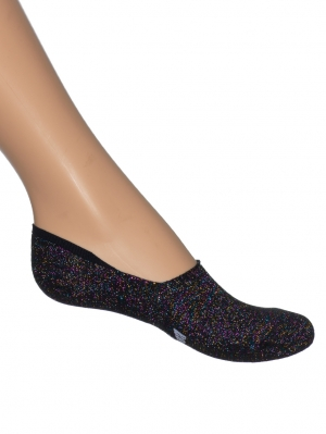 Multi Sparkle Sneaker Footie